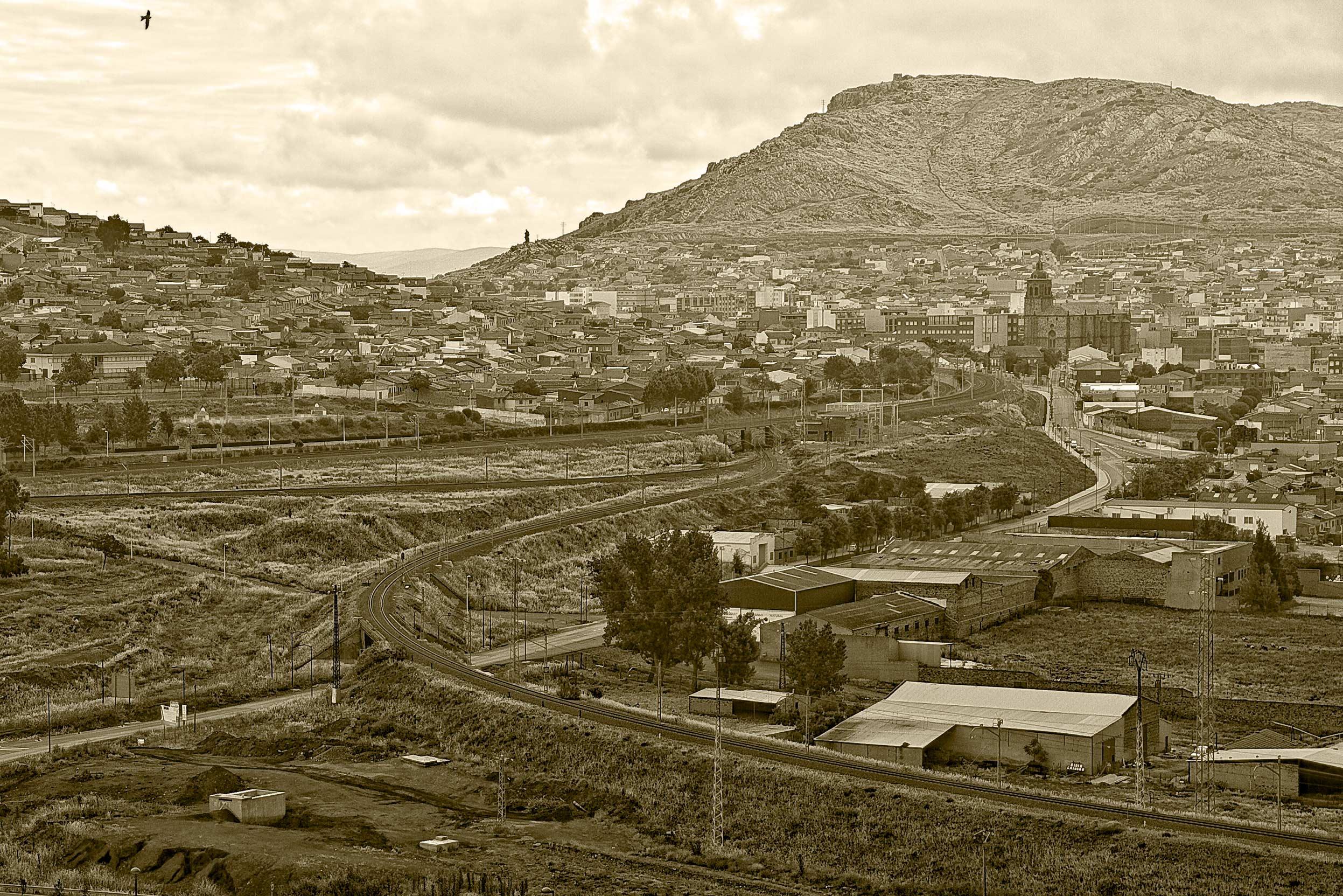 Puertollano desde el Terri. Fotografía Enrique Trujillo